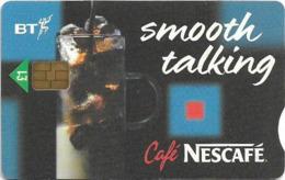 UK - BT (Chip) - BCP-155 - Café Nescafé, 1£, Used - Reino Unido