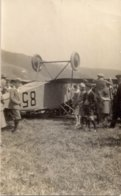 Aviation - Aviateur Albert Cuendet - Accident Du CH-85 - Sainte-Croix - Rare - Aviateurs