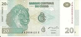 CONGO 20 FRANCS 2003 UNC P 94 - Zonder Classificatie