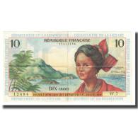 Billet, French Antilles, 10 Nouveaux Francs, KM:5a, SUP - Guyane Française