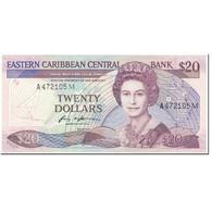 Billet, Etats Des Caraibes Orientales, 20 Dollars, 1988-93, Undated (1988-93) - Oostelijke Caraïben