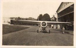 Aviation - Avion Lokheed-Vega - Lausanne-Blécherette - Rare - Lot De 2 Cartes - 1919-1938: Entre Guerras