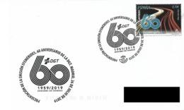 SPAIN. POSTMAK 60th ANNIV. GENERAL DIRECTION OF TRAFFIC. 2019 - España