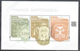 Poland  2019 - Finances Of The Independent - Ms - MNH (**) - Blocs & Hojas