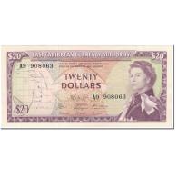 Billet, Etats Des Caraibes Orientales, 20 Dollars, 1965, Undated (1965), KM:15g - Oostelijke Caraïben