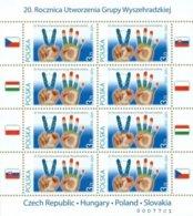 A 4357 Poland 20th Anniversary Of The Visegrad Group 2011 Joint Issue - Organizzazioni