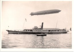 Aviation - LZ-127 Graf Zeppelin - Survol Du Simplon - Lac Léman - Superbe Et Rare - Aviación
