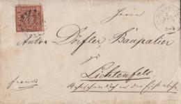Bayern Brief EF Minr.4 Nürnberg 2.12.1862 - Bavaria
