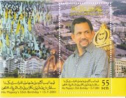 His Majesty's 55th Birthday 15-7-2001 - Brunei (1984-...)