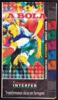 Portugal - Football, National Championship Calendars / Calendários Dos Campeonatos Nacionais De Futebol - 2007/08 - Books