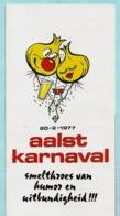 AALST - CARNAVAL 1977/1979/1980 (programma) + Aftelkalender Carnaval 1997 + Carnavalstoet 1979 (deelnemerslijst) - Carnival