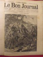 """Recueil """"le Bon Journal"""" 1893. 35 Numéros (703 à 737). Jolies Gravures - Magazines - Before 1900"""