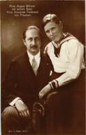 CPA AK August Wilhelm V. Preussen Alexander Ferdinand GERMAN ROYALTY (867782) - Koninklijke Families