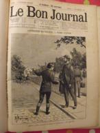 """Recueil """"le Bon Journal"""" 1892. 35 Numéros (668 à 702). Jolies Gravures - Magazines - Before 1900"""
