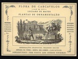 Postal Publicitario De 1958: FLORA De CARCAVELOS Quinta Dos Lombos / Estrada Da Torre (Cascais / Lisboa / Portugal) - Portugal