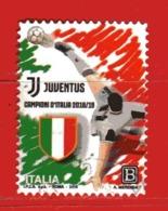 Italia °- 2019 -  JUVENTUS Campione D'ITALIA 2018-2019,  Usato. - 6. 1946-.. Repubblica