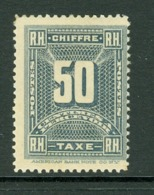 Timbre Taxe. Haïti; Timbre Scott Stamp # J-4; Neuf, Trace De Charnière / Mint, Trace Of Hinge (8199) - Haiti
