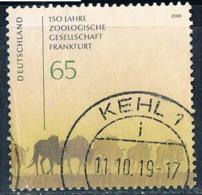 2008  150 Jahre Zoologische Gesellschaft Frankfurt - [7] Federal Republic