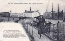 85 - Vendee -  LES SABLES DOLONNE - Quai Et Ecluses Des Bassins - Sables D'Olonne
