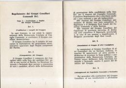 B 2767 - DC, Democrazia Cristiana - Decrees & Laws