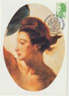 Carte Maximum FRANCE N°Yvert 2487 (LIBERTE Par DELACROIX) Obl Sp Ill Roubaix (Ed Arum) RR - 1980-89
