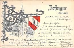 SUISSE Swiss ( VD Vaud ) LAUSANNE : Bofingue - CPA Illustrée -  Switzerland Schweiz Zwitsers Suizo Suíço - VD Vaud
