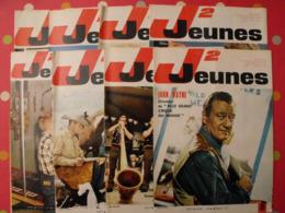 Lot De 8 J2 Jeunes De 1965. N° 8 à 15. John Wayne Delinx Mouminoux Brochard Gloesner Chery Rigot - Magazines Et Périodiques