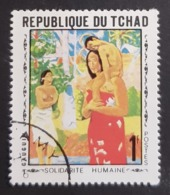 1969 World Soldarity, Paintings, Republique Du Tchad, *, ** Or Used - Tsjaad (1960-...)