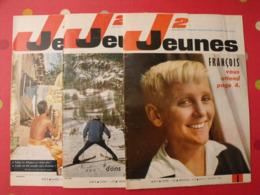 Lot De 3 J2 Jeunes De 1965. N° 1 à 3.  Delinx Mouminoux Brochard Gloesner Chery Rigot. à Redécouvrir - Magazines Et Périodiques