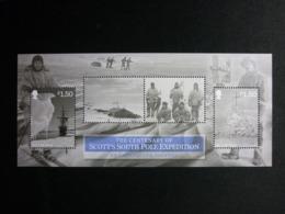 ISLE OF MAN, 2012 Terra Nova Expedition Michel #1806-7 MNH Cv. 7,60€ - Isola Di Man