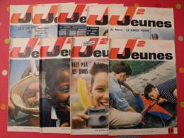 Lot De 9 J2 Jeunes De 1965. N° 16 à 25 (sauf 22). 24 Heures Du Mans Delinx Mouminoux Brochard Gloesner Chery Rigot - Magazines Et Périodiques