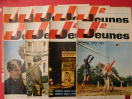 Lot De 9 J2 Jeunes De 1964. N° 45 à 53. Football Inde Delinx Mouminoux Brochard Gloesner Chery Rigot. à Redécouvrir - Magazines Et Périodiques