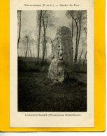 2825 - Montroissier - Menhir Du Parc - France