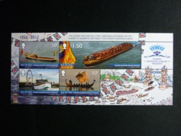 ISLE OF MAN, 2012 Ships Parade On The Thames Block #84 MNH Cv. 7,50€ - Isola Di Man