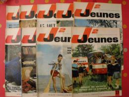 Lot De 9 J2 Jeunes De 1964. N° 27 à 35. Bays Basque Mont Blanc.  Delinx Mouminoux Brochard Gloesner Chery Rigot. - Magazines Et Périodiques