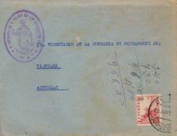 1963 , GUIPÚZCOA , SOBRE CIRCULADO , ZUMAYA - VIAVELEZ , COFRADIA DE SAN TELMO DE LOS MAREANTES DE ZUMAYA - 1931-Hoy: 2ª República - ... Juan Carlos I