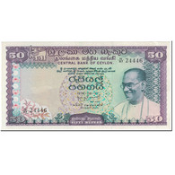 Billet, Ceylon, 50 Rupees, 1974, 1974-08-27, KM:79a, SPL - Sri Lanka