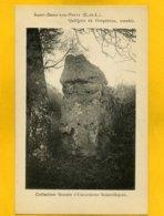 2833 -Saint-Denis Les Ponts - Quillette De Gargantua - Menhir - Sonstige Gemeinden