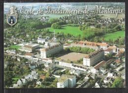 Cpm 4520855 Vue Aérienne De L'école De Gendarmerie De Montargis - Montargis