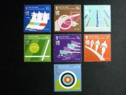 ISLE OF MAN, 2012 Olympics Games London Michel #1743-49 MNH Cv. 12,00€ - Isola Di Man