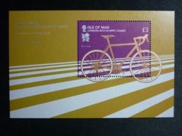 ISLE OF MAN, 2012 Olympics Games London Souvenir Sheet Michel #1750 MNH Cv. 7,50€ - Isola Di Man