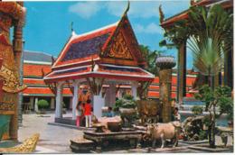 Thailand Postcard Sent To Denmark - Tailandia