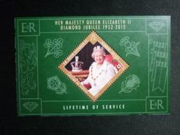 ISLE OF MAN, 2012 Anniversary Of Queen Elizabeth II Souvenir Sheet Michel #1774 MNH Cv. 7,50€ - Isola Di Man