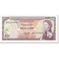 Billet, Etats Des Caraibes Orientales, 20 Dollars, 1965, Undated (1965), KM:15j - Oostelijke Caraïben