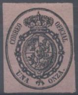 LOTE 1925   ///    (C065) ESPAÑA 1855 YVERT Nº: SERV. 6 // EDIF. Nº: 36  COTE 19€ *MH - 1850-68 Königreich: Isabella II.