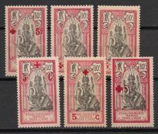 Inde - 1915-16 - N°Yv. 43 à 48 - Série Complète - Neuf Luxe ** / MNH / Postfrisch - Indien (1892-1954)