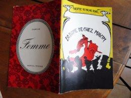 1966 Théâtre Du PALAIS ROYAL --> La Dame De Chez MAXIM (Henri Lazarini,Cynthia Ruiz,André Chazel,Jacqueline Marbaux,etc) - Theatre