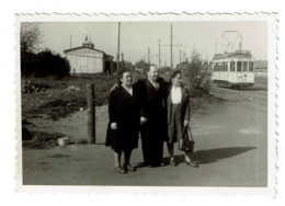 Photo 9,5 Cm X 6,5 Cm - Environs Liège - Tram 51 - Tramway - 2 Scans - Lieux