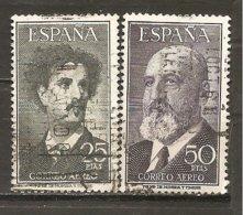 España/Spain-(usado) - Edifil  1164-65 - Yvert  Aéreo 265, 277 (o) - Aéreo