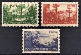 MONACO 1933 / 1937 -  Y.T. N° 135 / 136 / 137  -  NEUFS** /4 - Monaco